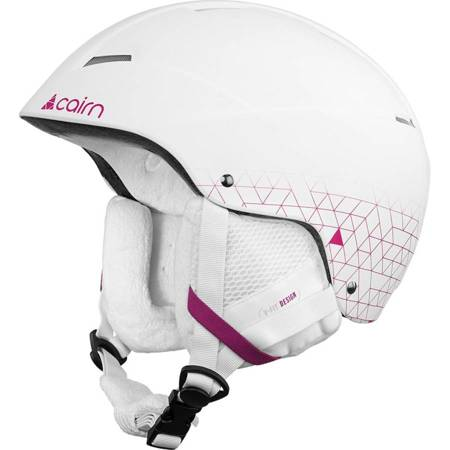 Kask narciarski CAIRN Andromed white pink 59/60