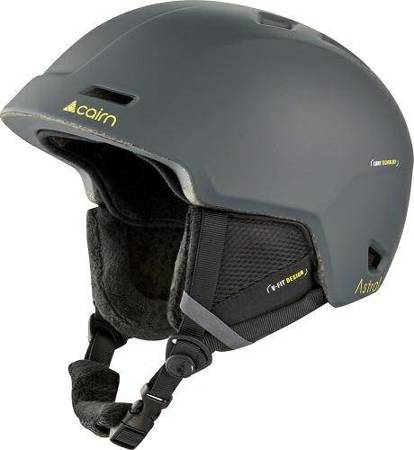 Kask narciarski CAIRN Astral mat shadow lemon 61/62