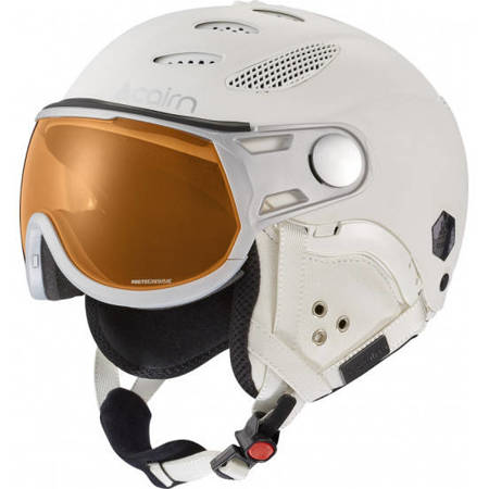 Kask narciarski CAIRN Cosmos Photochronic mat total white 55/57