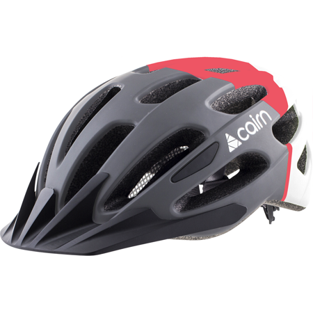 Kask rowerowy CAIRN Prism XTR blk red wht S 52-55