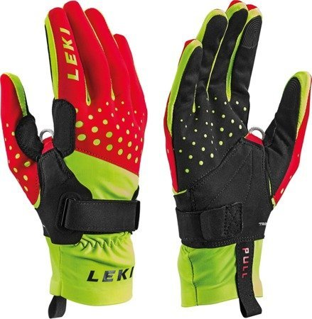 LE RĘK Nordic Race Shark red-yellow 7.0